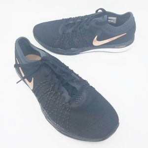 Nike Training Womens Dual Fusion Hit Black Bronze